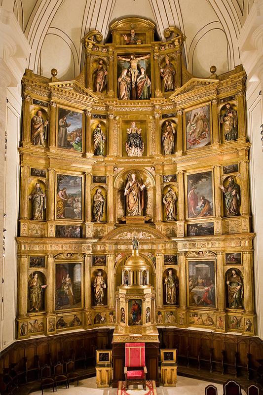 Retablo Mayor de la iglesia de Santa María Magdalena