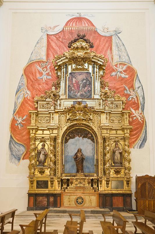 Retablo de Nuestra Señora de los Dolores de la iglesia de Santa María Magdalena