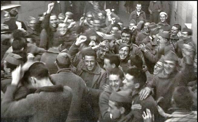 Soldados capturados en el Cerro de los Ángeles
