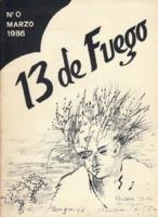 13 de Fuego. Núm 0 - marzo de 1986