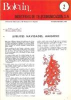 Boletín de Intelsa. Núm. 02 - Noviembre/Diciembre-1972