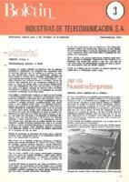 Boletín de Intelsa. Núm. 03 - Enero/Febrero-1973