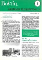 Boletín de Intelsa. Núm. 06 - Septiembre/Octubre-1973