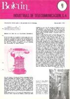 Boletín de Intelsa. Núm. 09 - Marzo/Abril-1974