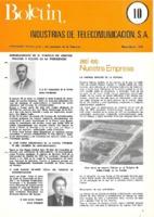 Boletín de Intelsa. Núm. 10 - Mayo/Julio-1974
