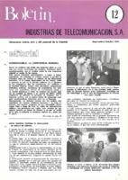 Boletín de Intelsa. Núm. 12 - Septiembre/Octubre-1974