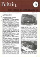 Boletín de Intelsa. Núm. 15 - Abril/Mayo-1975
