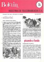 Boletín de Intelsa. Núm. 16 - Junio/Julio-1975