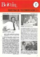 Boletín de Intelsa. Núm. 17 - Agosto/Octubre-1975