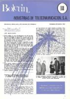 Boletín de Intelsa. Núm. 18 - Noviembre/Diciembre-1975