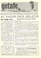 Boletín Municipal Núm. 1 -  Enero 1975