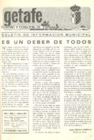 Boletín Municipal Núm. 2 - Febrero 1975