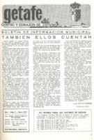 Boletín Municipal Núm. 3 - Marzo 1975