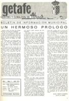 Boletín Municipal Núm. 4 - Abril 1975