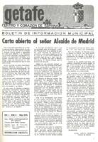 Boletín Municipal Núm. 5 - Mayo 1975