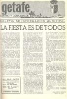 Boletín Municipal Núm. 16 - Abril 1976