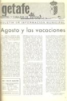 Boletín Municipal Núm. 20 - Agosto 1976