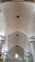 Bóveda de la nave central de Santa María Magdalena