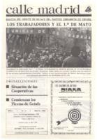 Calle Madrid Núm. 3 - Mayo 1980