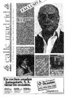 Calle Madrid Núm. 38 - Noviembre 1984