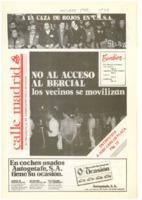 Calle Madrid Núm. 46 - Octubre 1985