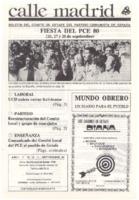 Calle Madrid Núm. 5 - Septiembre 1980
