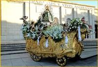 Carroza de Nuestra Señora de los Ángeles