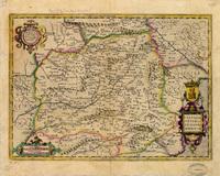 Castiliae veteris et novae descriptio, Anno 1606