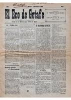 El Eco de Getafe. Núm. 1 - 15-noviembre-1918