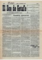 El Eco de Getafe. Núm. 2 -1-diciembre-1918
