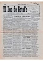 El Eco de Getafe. Núm. 4 - 1-enero-1919