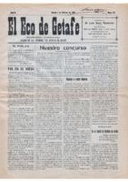 El Eco de Getafe. Núm. 5-6 - 1-febrero-1919