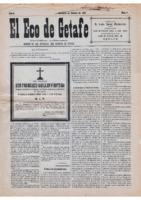 El Eco de Getafe. Núm. 7 - 15-febrero-1919