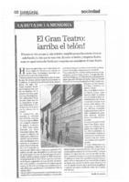 El Gran Teatro: ¡arriba el telón!
