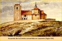 Lazareto en el Cerro de los Ángeles
