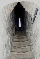 Escalera de la torre mudéjar de la catedral de Santa María Magdalena