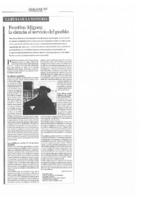 Faustino Míguez: La ciencia al servicio del pueblo