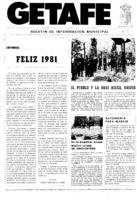 Getafe. Núm. 09 - Enero-1981