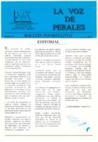 La Voz de Perales. Núm. 02 - Marzo-1993