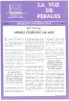 La Voz de Perales. Núm. 08 - Octubre-1993