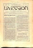 La Región. Núm. 28 - 30-enero-1915