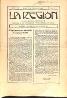 La Región. Núm. 29 - 15-febrero-1915