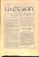 La Región. Núm. 31 - 15-marzo-1915