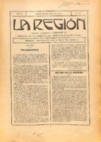 La Región. Núm. 39 - 15-julio-1915
