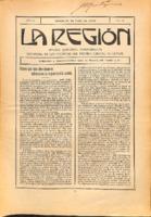 La Región. Núm. 40 - 31-julio-1915