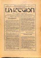 La Región. Núm. 42 - 31-agosto-1915