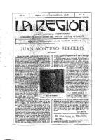 La Región. Núm. 43 - 16-septiembre-1915