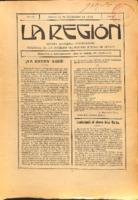 La Región. Núm. 50 - 31-diciembre-1915
