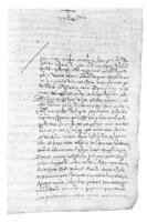 Solicitud para modificar las trazas de la iglesia de Santa María Magdalena
