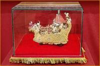 Maqueta de la Virgen de los Ángeles en su Carroza